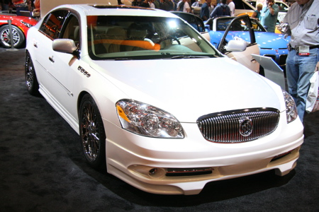 sema buick lucerne ccx luxury liner by rick bottom and all info