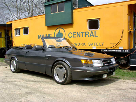 Patrick's 1987 Saab 900 Convertible was bought four years ago for a