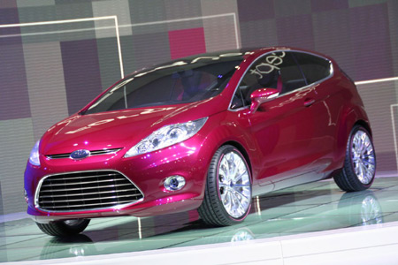 Frankfurt 2007: Ford Verve Concept visits the stage