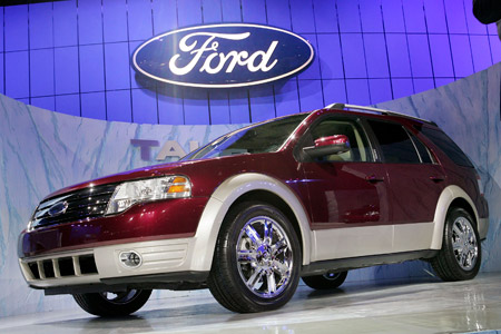 Ford Taurus X Crossover Suv. of the 2008 Ford Taurus X