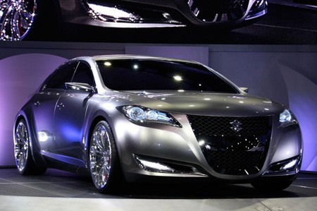 New York 2008: Suzuki unveils Kizashi 3 concept, coming in 2010
