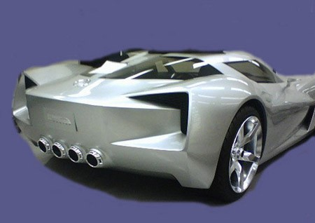Toyota Plants In Usa >> Transformers Corvette concept shows some tush and all info ...