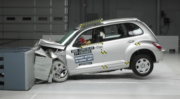 SX4, Matrix score Good on IIHS tests, PT Cruiser not so much