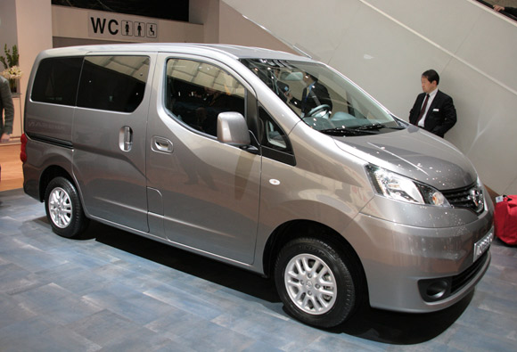 "Nissan NV200 je ""International Van of the Year 2010"""