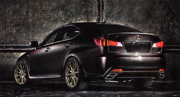 Lexus Is. lighter Lexus IS F is