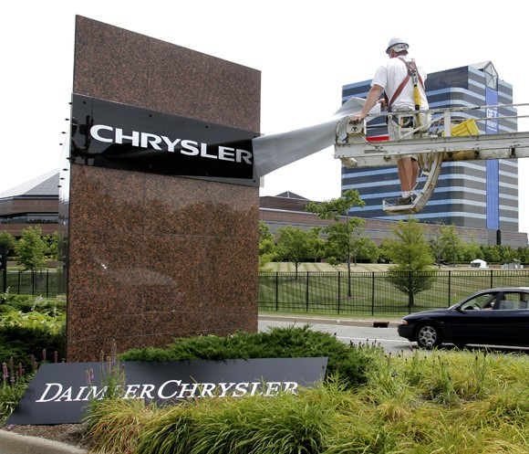 Daimler stake in chrysler