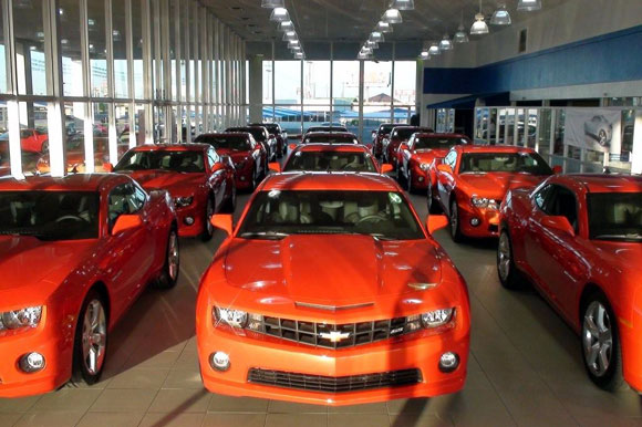 Last week in (yet another) celebration of the arrival of the 2010 Camaro,