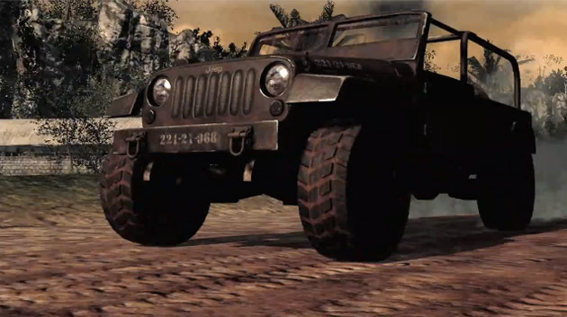 call of duty black ops jeep wrangler interior. Jeep Wrangler Call of Duty: Black Ops Edition gameplay