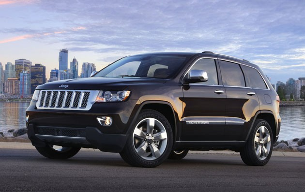 The Overland Summit edition of the new Jeep Grand Cherokee