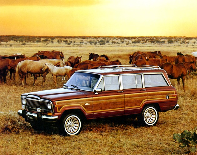 1978 Jeep Wagoneer Limited. Jeep Grand Wagoneer with