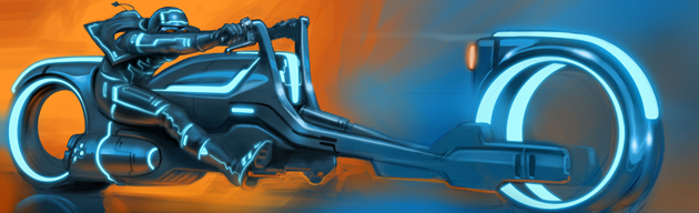 Side Questing Tron Light Cycle Design Contest Winner