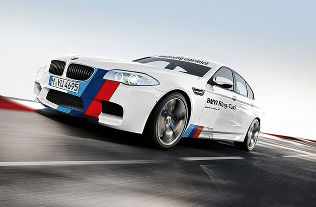2012 BMW M5 Ring Taxi