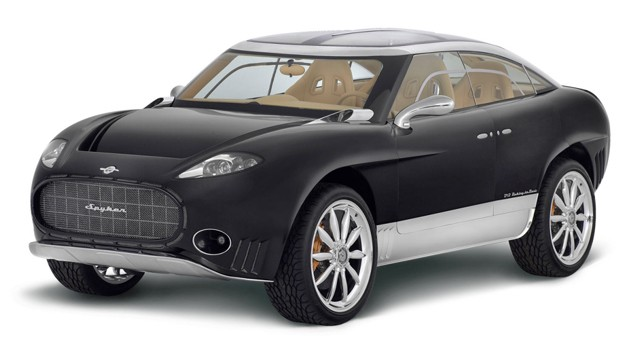 Spyker SSUV concept - studio view - front three-quarter view