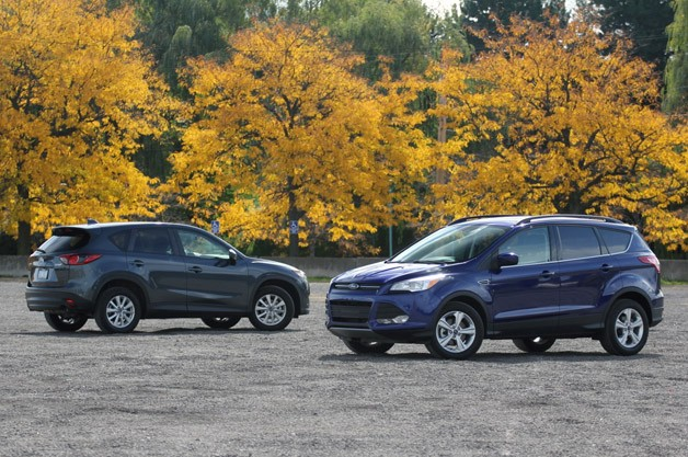 2013 Ford Escape vs 2013 Mazda CX-5