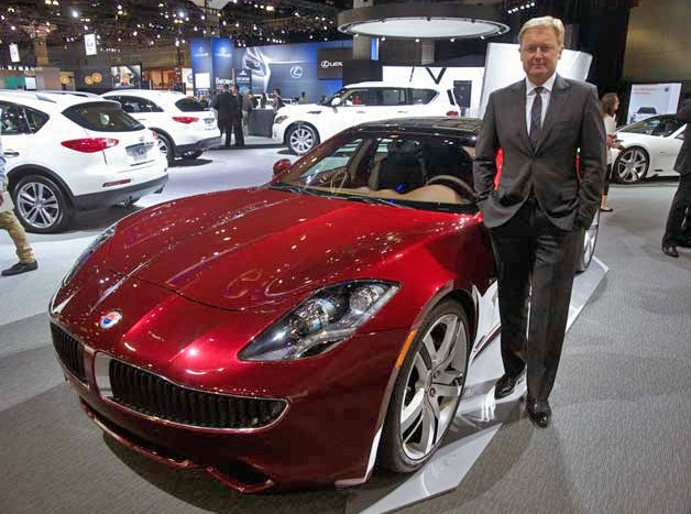 henrik fisker with karma plug-in hybrid