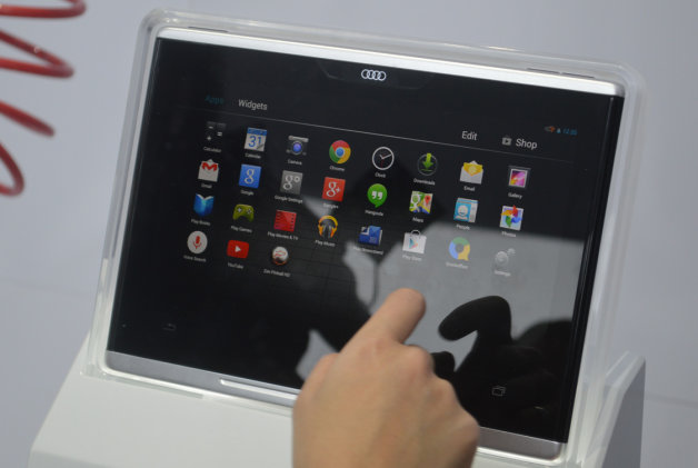 audi smart display tablet