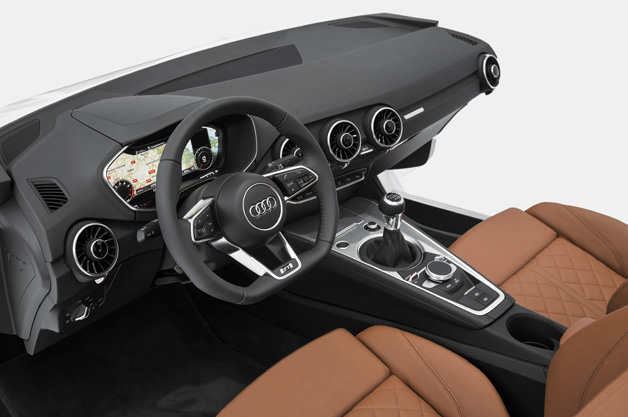 Next-gen Audi TT interior at CES 2014