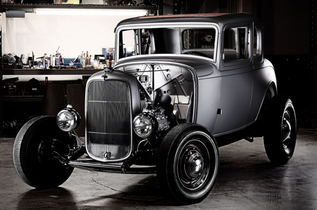 1932 Ford Five-Window Coupe body