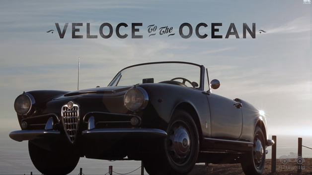 Petrolicious: Veloce to the Ocean