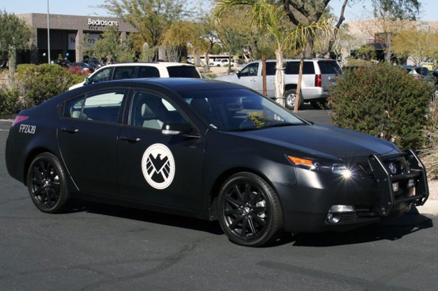 Acura TL SHIELD police car from The Avengers movie
