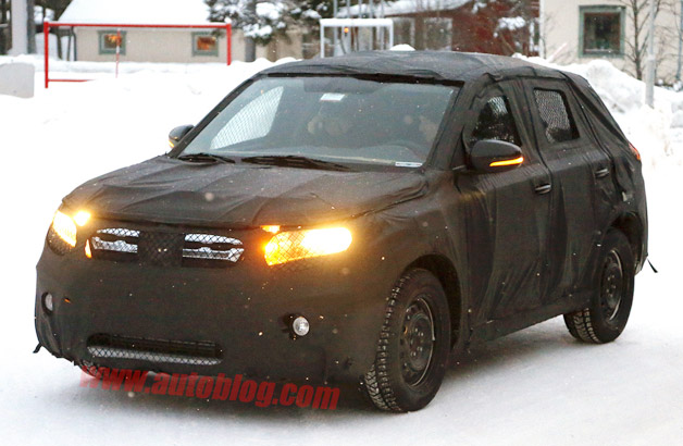 2015 Suzuki Grand Vitara spy shots