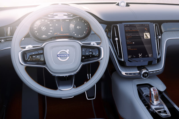 Volvo New User Interface