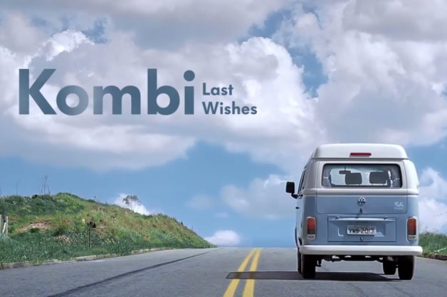 Volkswagen Type 2 Kombi Best Wishes