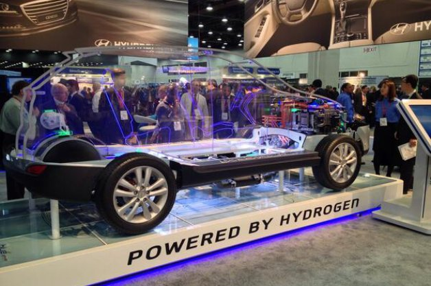 SAE World Congress Hyundai Tucson Fuel Cell SUV