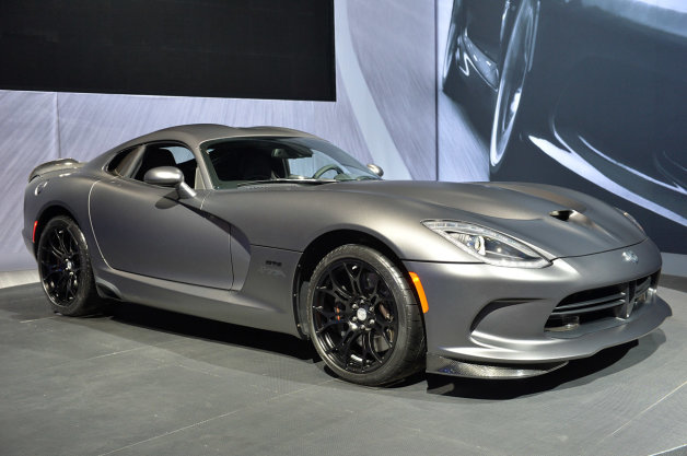 2015 SRT Viper TA Anodized Carbon Special Edition