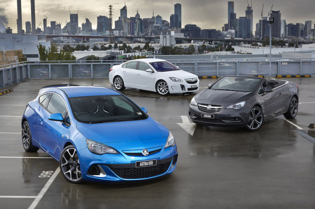 Holden Cascada, Astra and Insignia