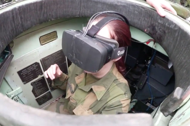 Oculus Rift Norwegian Military