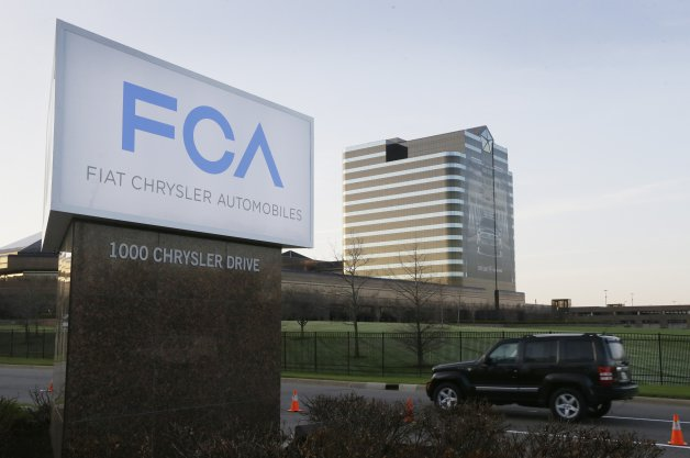 Fiat Chrysler Automobiles sign