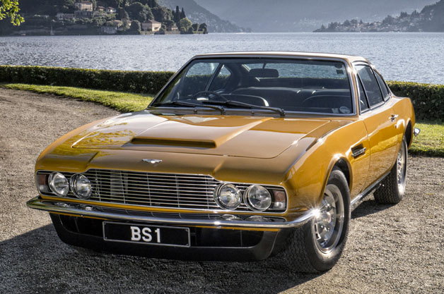 1970 Aston Martin DBS at Lake Como
