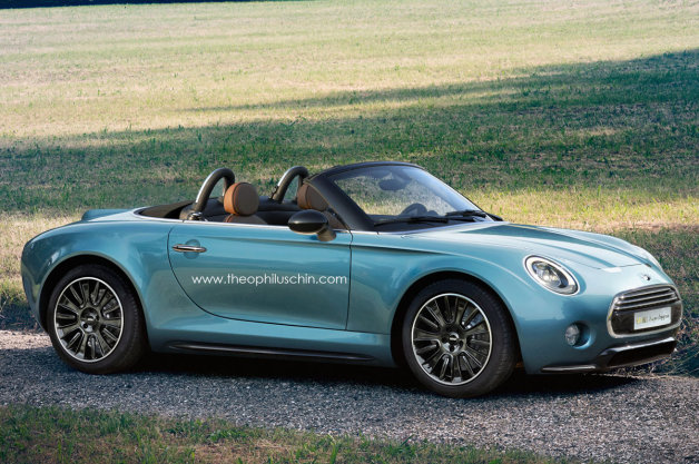 Mini Superleggera Rendering