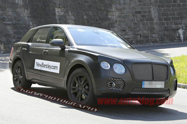 Bentley SUV prototype