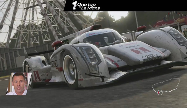 Audi One Lap of Le Mans with Tom Kristensen