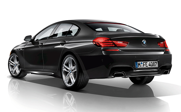 BMW Individual 6 Series Gran Coupe Band & Olufsen edition, front three-quarter view.