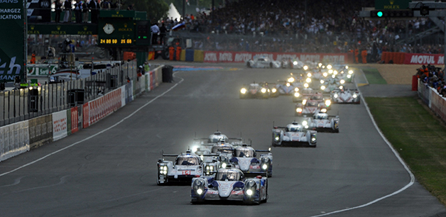 The 2014 24 Hours of Le Mans.