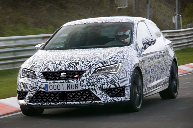 Seat Leon Cupra on the Nurburgring