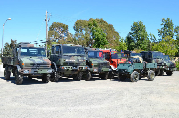 Mercedes Unimog and Pinzgauer auction