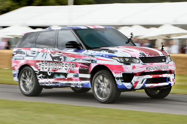 Land Rover Range Rover Sport SVR Prototype at Goodwood