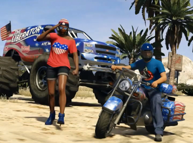 Grand Theft Auto Online Independence Day Special