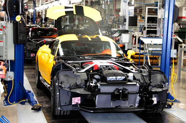 Viper assembly line at Conner Avenue