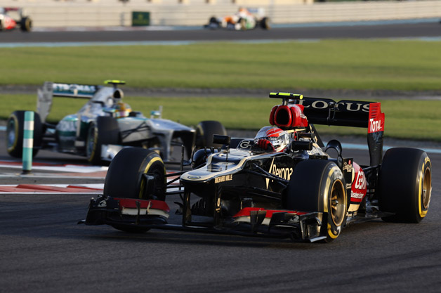 Lotus and Mercedes in F1
