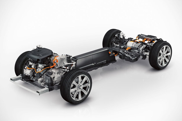 2015 Volvo XC90 T8 chassis
