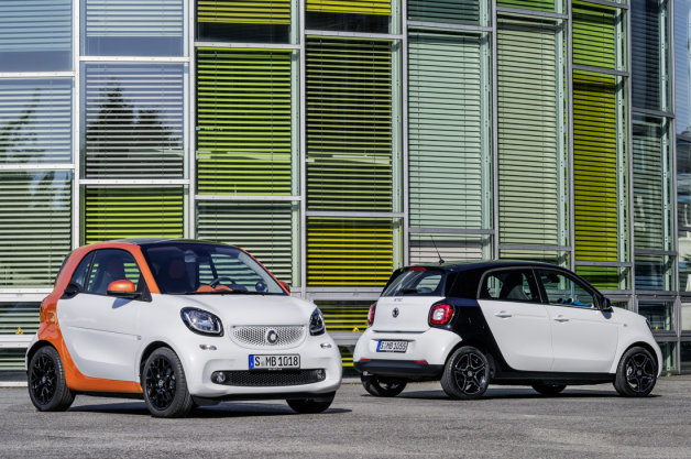 2016 Smart Fortwo and Forfour
