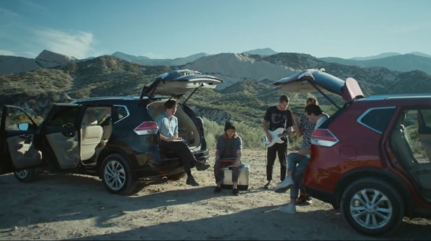 Nissan Rogue Local Natives Breakers video