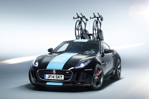 Jaguar F-Type Coupe Team Sky Concept