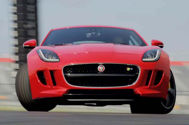 Jaguar F-Type Coupe R at the Circuit of the Americas