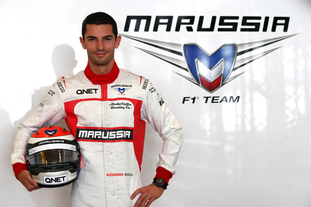 Alexander Rossi at Marussia